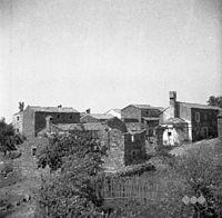 Del Labora, fotografirano z griča kjer stoji cerkev 1950.jpg