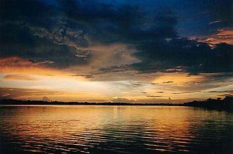 Orinoco Delta - Orinoco Delta's sunset