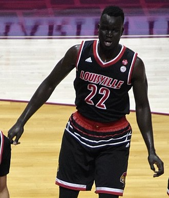 Deng Adel - Adel playing for Louisville