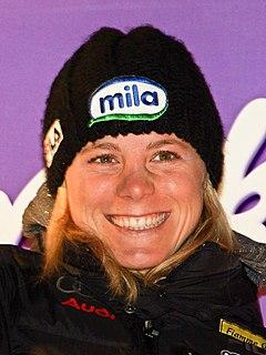 Denise Karbon Italian alpine skier