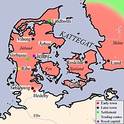 Reinos Vikingos De Dinamarca Wikipedia La Enciclopedia Libre