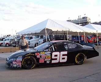 Keselowski Motorsports - The number 96 car at The Milwaukee Mile in 2009