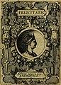 Deorvm dearvmqve capita, ex antiquis numismatibus Abrahami Ortelii collecta et historica narratione illustrata a Francisco Sweertio (1602) (14561407690).jpg