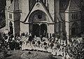 Der Kronprinz in der Friedenskirche am 11. Mai 1907, Foto Hugo Klippert.jpg