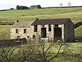 Derelict farmhouse and barn - geograph.org.uk - 615777.jpg