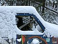 Derelict van in the snowy woods (38669739274).jpg
