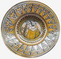 Deruta Plate with a woman's portrait.jpg