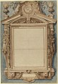 Design for the Frame of a Funerary Plaque with the Coat of Arms of Roger II de Saint Lary, Duc de Bellegarde MET 2002.363.jpg