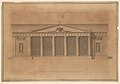 Design of a Greenhouse for the Right Honorable Earl of Coventry, Croome Court, Worcestershire (Elevation) MET DP244886.jpg
