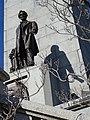 Detail of Lincoln Sculpture atop Tomb - Oak Ridge Cemetery - Springfield - Illinois - USA (32798185071).jpg
