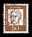 Deutsche Bundespost - Bedeutende Deutsche - Johann Wolfgang von Goethe - 50 Pfennig.jpg