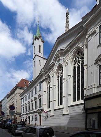 Church of the Teutonic Order, Vienna - Image: Deutschordenskirche Singerstraße 3