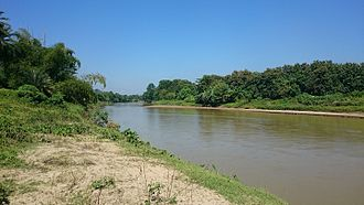 Dhalai River - Dhalai River near Kamalpur