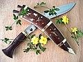 Dhankute kukri (wooden scabbard).jpg