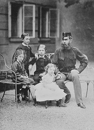 Archduchess Margarete Sophie of Austria - Image: Die Familie von Karl Ludwig von Österreich