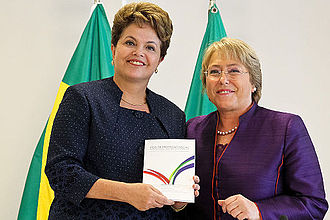 Foreign relations of Chile - Michelle Bachelet and Dilma Rousseff, 15 December 2011