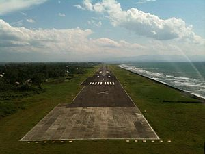 Dipolog Airport - The runway development as of this day