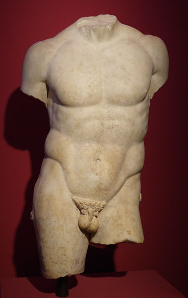 Discophoros, Earliest – Athlete With Discus Torso