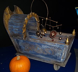 A Good Man Goes to War - The Doctor's cot, on display at the Doctor Who Experience.