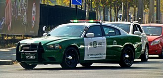 Carabineros de Chile - Dodge charger 2014 of Chilean Police