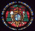 Dol-de-Bretagne (35) Cathédrale Saint-Samson Armes de Mgr de Bouschet de Sourches.jpg