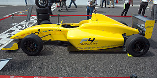 Formula 4 Open-wheel racing car category intended for junior drivers