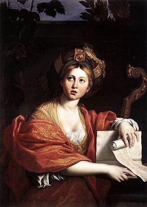 Cumaean Sibyl (Domenichino) - Cumaean Sibyl at Galleria Borghese, also by Domenichino.