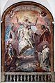 Domenico fiasella, trinità con maria, giovanni battista e i santi protettori di genova giorgio e bernardo, 1630 ca. 01.jpg