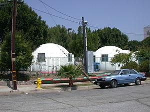 Dome Village - Image: Domes in Dome Village Los Angeles