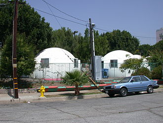 Dome Village - Image: Domes in Dome Village Los Angeles