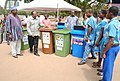 Donation of waste bins to schools.JPG