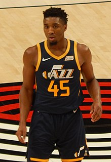 Donovan Mitchell American basketball player