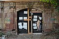 Doors at former artist's house at Zeughof in Weimar.jpg