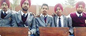Education in Punjab, India - Senior School students in Punjab