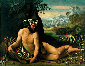 Universalmuseum Joanneum - Hercules and the Pygmies by Dosso Dossi, c. 1535