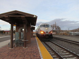 Downtown Bernalillo Rail Runner station, Bernalillo NM.jpg