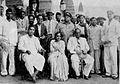 Dr. Babasaheb Ambedkar and Savita Ambedkar with Dadasaheb Gaikwad and others.jpg
