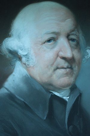 Francis Willis (physician) - Dr Francis Willis (detail) by John Russell, 1789, National Gallery, London