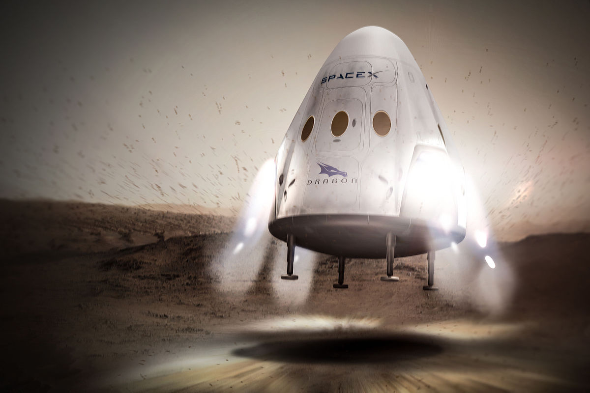 Manned Dragon completed vacuum tests