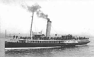 Caledonian Steam Packet Company - Paddle Steamer ''Duchess of Montrose''