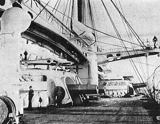 100-ton gun - Twin guns on Duilio