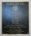 Dunkin' Donuts Center Dedication plaque.jpg