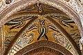 Duomo di Cefalù, Particolare dei mosaico delle volte, Angeli. - panoramio.jpg