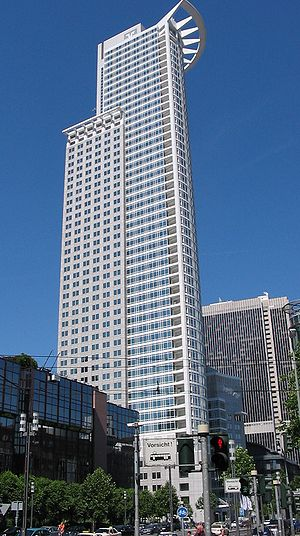 DZ Bank - Westendstraße 1, the headquarters of DZ Bank in Frankfurt