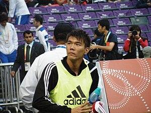 Chan Siu Ki - Image: EAG2009 football final HK Gvs JPN02