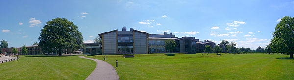 The Sanger Institute EBI and Sanger Center, Genome campus, Cambridgeshire.jpg