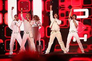Spain in the Eurovision Song Contest - Image: ESC 2007 Spain D'Nash I love you mi vida