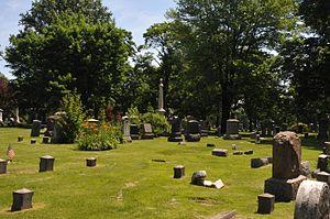 Evergreen Cemetery (Hillside, New Jersey) - Image: EVERGREEN CEMETERY, UNION COUNTY