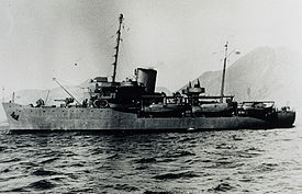 EXPLORER in Aleutians 1944