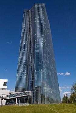 EZB Frankfurt, Westseite.jpg